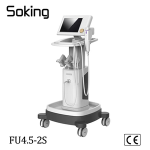 High energy high intensity foucused ultrasound face lifting and body sliming machine